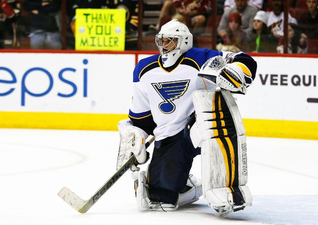 The acquisition of Ryan Miller will provide more consistency in net for the St. Louis Blues. (USA Today)