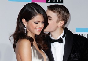 Justin Bieber reportedly made a cross-country dash from Florida to Texas just to spend Friday morning with his ex Selena Gomez.  REUTERS/Danny Moloshok