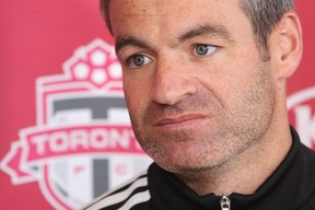 Ryan Nelsen admits concern over the team's early injury problems, but says he'd rather get these out of the way now, rather than later in the MLS schedule. (QMI AGENCY/FILES)