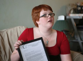 Mylissa Black, 14, at her Scarborough home on March 4, 2014. (Jack Boland/Toronto Sun)