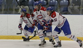 The Kingston Voyageurs will face the Trenton Golden Hawks in an OJHL North-East Conference semifinal series. The series opens Thursday night at the Invista Centre. (Julia McKay/The Whig-Standard)
