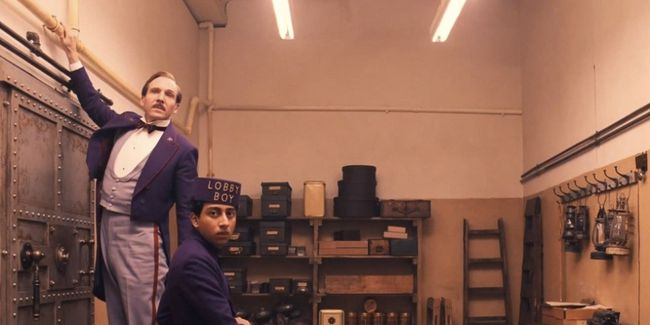 A scene from The Grand Budapest Hotel (Handout)