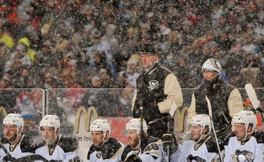 Jack Adams Award - coach that has contributed most to his team's success  DAN BYLSMA, Pittsburgh Penguins  Why: Owns a 44-19-4 record despite being decimated by injuries throughout the year. Team has one of the better road winning percentages -- usually a mark of a good coach.  (Photo via USA Today)