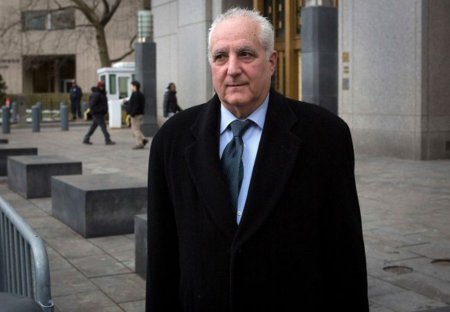 Daniel Bonventre, former back-office director for Bernard L. Madoff Investment Securities LLC, exits Manhattan Federal Courthouse in the Manhattan Borough of New York Feb. 24, 2014.REUTERS/Carlo Allegri