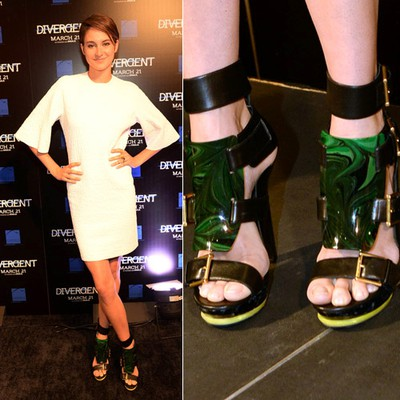 """Shailene Woodley in Atlanta for the Divergent premiere. She wore a white Alexander McQueen Dress and shoes.   PDRTJS_settings_7521219 = { """"id"""" : """"7521219"""", """"unique_id"""" : """"default"""", """"title"""" : """""""", """"permalink"""" : """""""" };"""