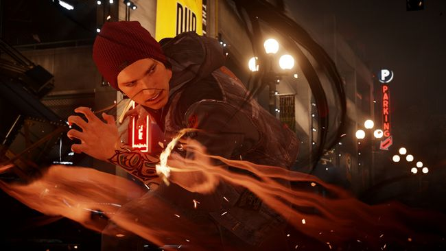"""Infamous: Second Son."" (HO)"