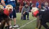Anthony Calvillo scouts at the CFL's regional combine in Montreal on Wednesday, March 19, 2014. (Sebastien St-Jean/QMI Agency)