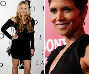 Amanda Bynes and Halle Berry. (WENN/Reuters file photos)