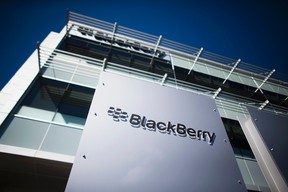 The Blackberry campus in Waterloo, Ont., is shown in this September 23, 2013 file photo. REUTERS/Mark Blinch/Files