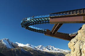 The Glacier Skywalk in Jasper is ready to open to the public on May 1.
