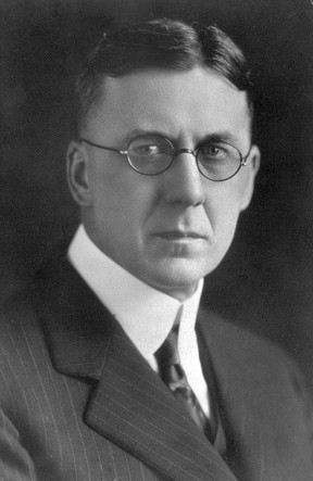 Archival photo of former Alberta premier John Brownlee, whose career was ended by a salacious sex scandal in 1934.