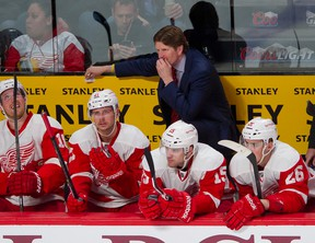 Red Wings' Mike Babcock is the best coach in the game, but has yet to win the Jack Adams Trophy in his career. (QMI AGENCY)