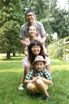 Ottawa's Chinese community has started a trust fund to help a local family who's patriarch died while on March Break vacation in Cuba. Yue Liu, drowned at a beach near Varadero on March 19, 2014. He is pictured here with his wife Fanyan Bu, their seven-year-old son and nine-year-old daughter. (submitted photo) OTTAWA SUN/QMI AGENCY