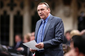 John Duncan speaks during Question Period in the House of Commons on Parliament Hill in Ottawa Dec. 3, 2013. REUTERS/Chris Wattie