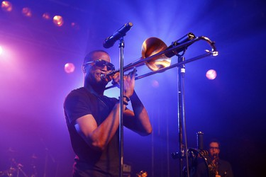 Trombone Shorty & Orleans Avenue will bring a bit of the blues to the Ottawa Bluesfest 2014. They play Wednesday, July 9 at 9 p.m. Sebastian Gabsch/Future Image/WENN.com