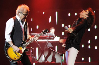 Mick Jones and Kelly Hansen of Foreigner. The band is among the among the acts which will be performing at the 2014 Ottawa Bluesfest. They're headlining Tuesday, July 8 at 9:30 p.m. Jeff Daly/WENN.com