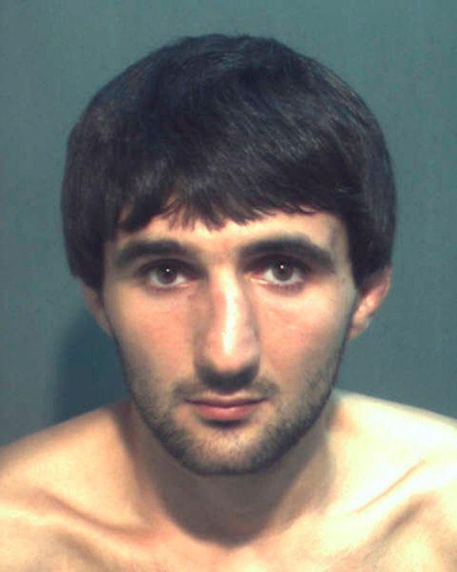 Ibragim Todashev is pictured in this undated booking photo courtesy of the Orange County Corrections Department. (REUTERS/Orange County Corrections Department/Handout via Reuters)