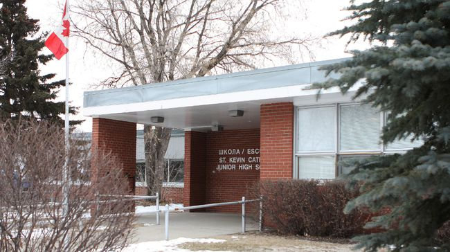 St. Kevin Junior High is one of four schools on the city's east-side being considered for closure and having classes consolidated at one larger new school. 