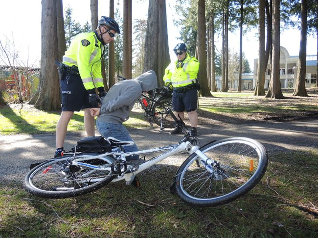 Surrey RCMP's bike squad is getting back together. (COURTESY OF SURREY RCMP)