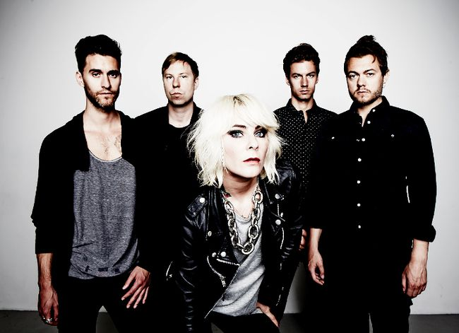 Sweden band The Sounds has managed to stay together for15 years of recording and touring. (PHOTO SUBMITTED)