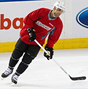 Andrew Cogliano says his mindset has changed from being an offensive player to playing solid two-way hockey. (Codie McLachlan, Edmonton Sun)