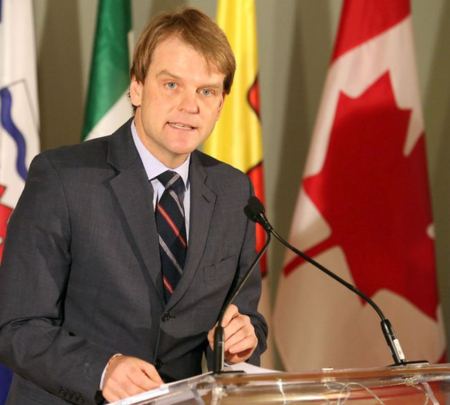 Immigration Minister Chris Alexander unveiled changes to Canada's Citizenship Act in Toronto on February 6, 2014. (Michael Peake/QMI Agency)