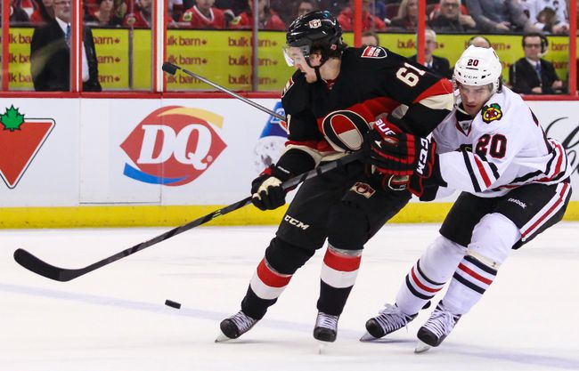 Sens vs Blackhawks