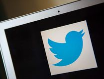 A Twitter logo is pictured in Ventura, Calif., in this December 21, 2013 file photo. (REUTERS/Eric Thayer/Files)