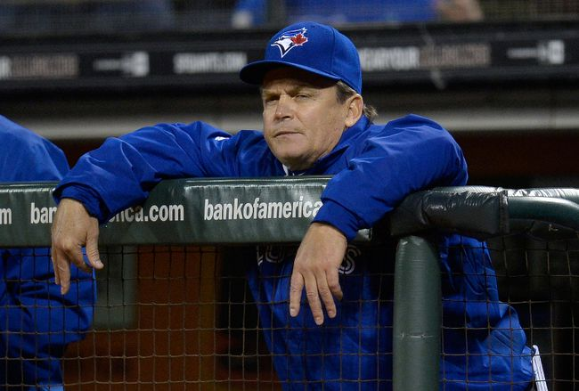 John Gibbons said answering questions every day about what was wrong with the team last season weighed on him .(USA Today Sports, photo)