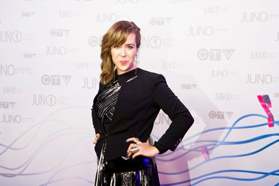 Serena Ryder on the red carpet at the Juno Awards Show at the MTS Centre held in Winnipeg, March 30, 2014. (Brook Jones/QMI Agency)