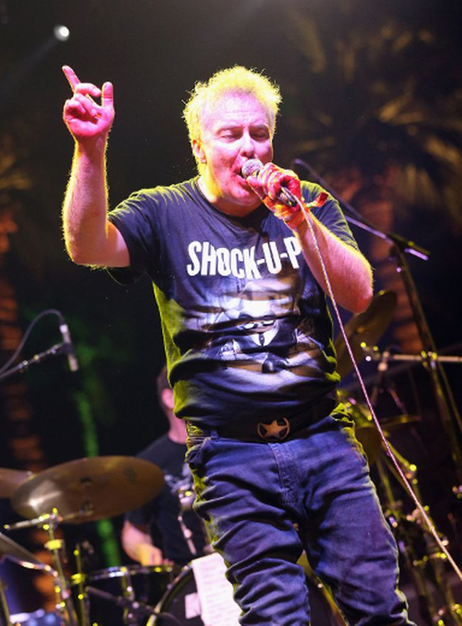 Singer Jello Biafra performs onstage during day 1 of the 2013 Coachella Valley Music & Arts Festival at the Empire Polo Club on April 12, 2013 in Indio, California. (Getty Images)