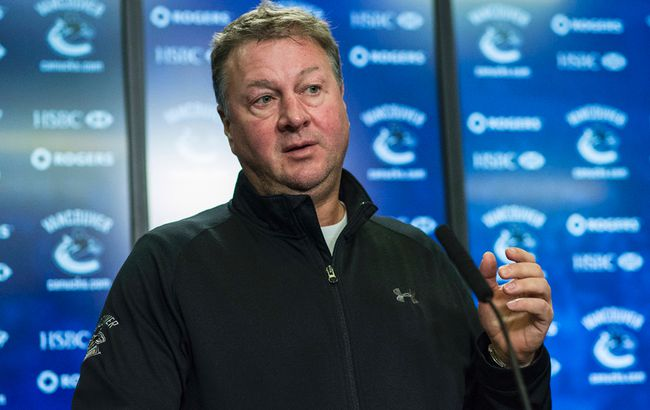 Canucks GM Mike Gillis. (24 HOURS FILE PHOTO)