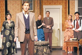 The comedy about love, Thornton Wilder?s The Matchmaker, is on at London District Christian secondary school Friday and Saturday this week and next. (Jonathan Boer/Special to QMI Agency)