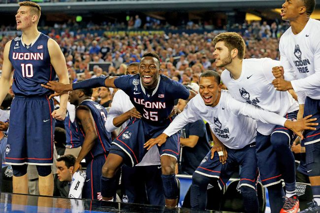 It's safe to say that very few believed that UConn or Kentucky would make the NCAA title game, let alone both of them. (AFP)