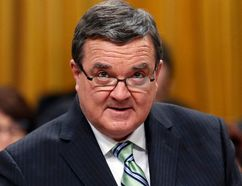 Canada's Finance Minister Jim Flaherty delivers the federal budget in the House of Commons on Parliament Hill in Ottawa February 11, 2014. (Reuters)
