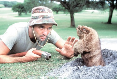 9: Caddyshack (1980)  The late Harold Ramis not only captured the loopy zeitgeist of golf, he inspired us to laugh forever at the antics of Chevy Chase, Rodney Dangerfield and especially Bill Murray.    (Promo Shot)