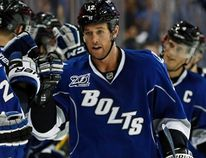 Lightning forward Ryan Malone was arrested on driving under the influence and cocaine possession charges in Tampa, Fla., on Saturday, April 12, 2014. (Mike Carlson/Reuters/Files)
