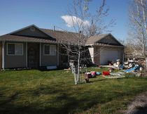 A view of the former home of Megan Huntsman in Pleasant Grove, Utah April 14, 2014. (REUTERS/Jim Urquhart)
