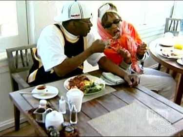 WHO: Whitney Houston & Bobby Brown. TV SHOW: Being Bobby Brown. THE 411: Viewers got a sneak peek into the pop singers' dying marriage. STATUS: Whitney and Bobby divorced in 2007. (Handout)