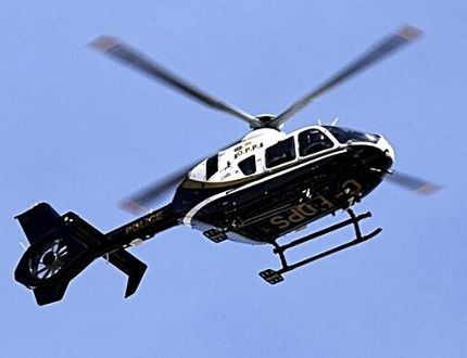 An OPP helicopter. Postmedia image
