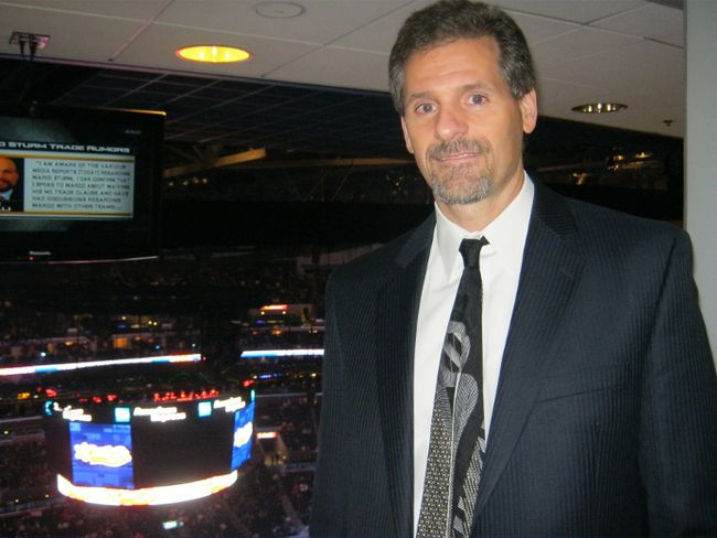 Philadelphia Flyers assistant GM Ron Hextall is rumoured to be in the mix for the GM's gig with the Vancouver Canucks. (RÉMI NADEAU/QMI Agency)