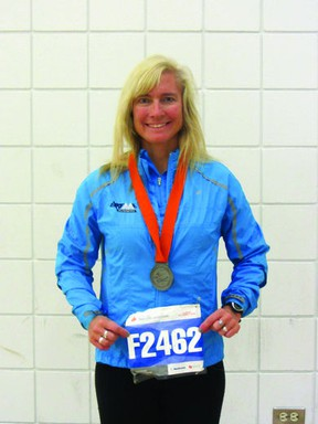 Robyn Dicesare was one of the thousands of runners pulled off the course when two pressure-cooker bombs hidden in backpacks exploded near the finish, killing three people and injuring at least 260.