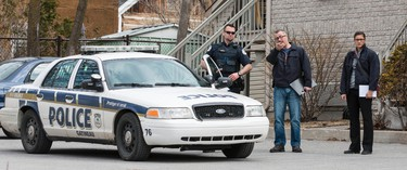 Gatineau Police are investigating the suspicious death of a 42 year old woman at 45 Rue Symmes in the Aylmer area of Gatineau. April 21, 2014. Errol McGihon/Ottawa Sun/QMI Agency