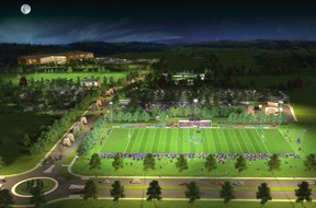 An image of the proposed Millennium Sports Park expansion in Orléans. (File photo)