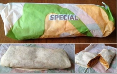 """The SupermanWhat it is: Originally, a Cheesy Double Beef Burrito (which is no longer on the regular menu) with extra cheese, potatoes, guacamole, sour cream and tortilla strips.How to get it: Order a beef burrito with extra beef, cheese and the ingredients above. (HackTheMenu.com)TRY IT?  PDRTJS_settings_7587967 = { """"id"""" : """"7587967"""", """"unique_id"""" : """"default"""", """"title"""" : """""""", """"permalink"""" : """""""" };"""