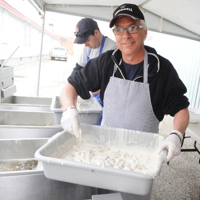 Fish fry helps send student overseas simcoe reformer for Doug s fish fry