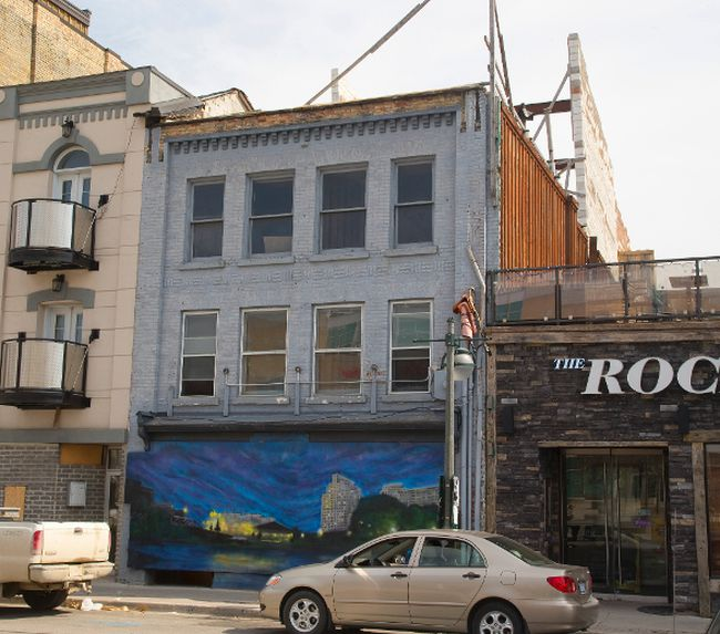 The city says this century-old building on King St. must come down because it's unstable.