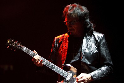 Tony Iommi of Black Sabbath performs at Rexall Place in Edmonton, Alta., on Tuesday, April 22, 2014. The English band are touring in support of their latest album 13. Ian Kucerak/Edmonton Sun/QMI Agency