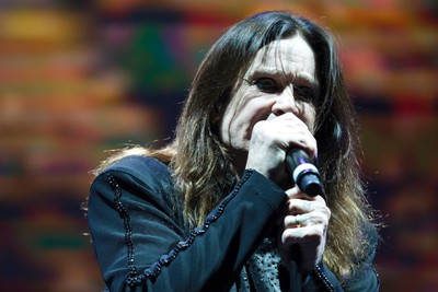 Ozzy Osbourne of Black Sabbath performs at Rexall Place in Edmonton, Alta., on Tuesday, April 22, 2014. The English band are touring in support of their latest album 13. Ian Kucerak/Edmonton Sun/QMI Agency