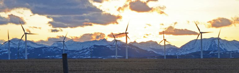 Private individuals and companies can fund their own wind turbines and generating stations and connect them to the grid through the AESO. However some landowners don't want to to see transmission lines near their property. John Stoesser photo/QMI Agency
